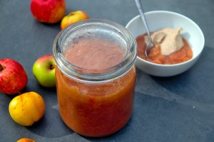 best low carb apple puree