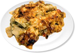 Cheesy Chicken Cabbage Casserole