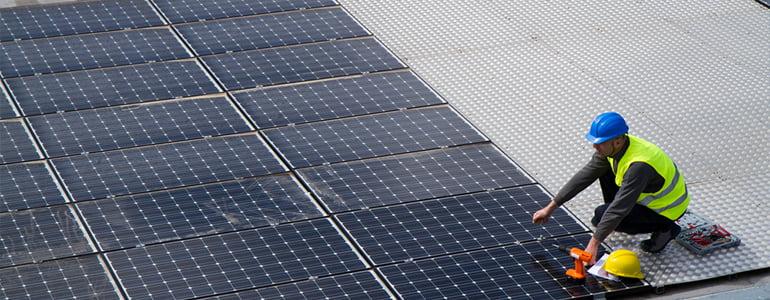 solar roof panels