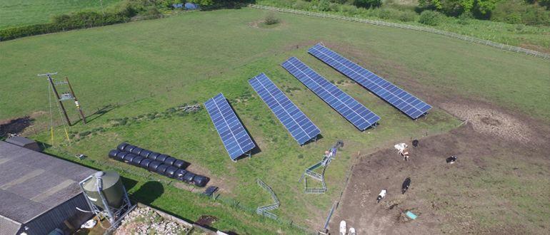 Marchwiel farm solar