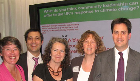 Members of LCWO meeting David Milliband at NESTA HQ