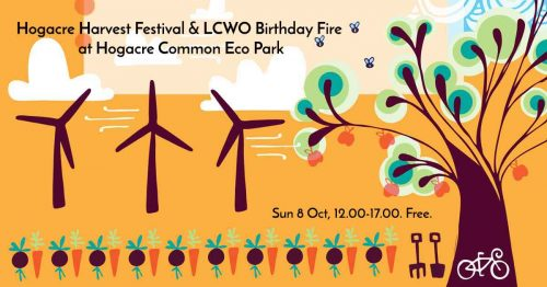 Harvest Festival & LCWO Birthday Fire at Hogacre Common Eco Park @ Hogacre Common Eco Park