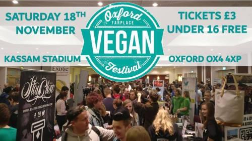 Oxford Vegan Festival (external event) @ Kassam Stadium