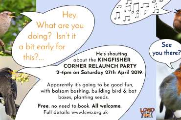 Kingfisher Corner relaunch, April 27th 2019 – gallery