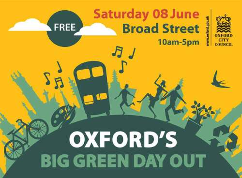 Oxford's Big Green Day Out [OGW event] @ Broad Street