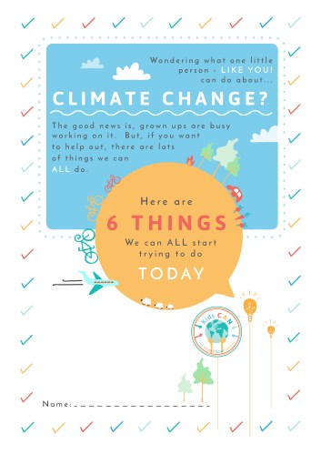 LCWO Kids CAN Climate Challenge sessions at West Oxford Community Primary School @ West Oxford Community Primary School