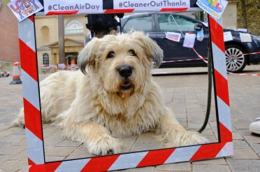 LCWO hits Bonn Square on #CleanAirDay2019 #CleanerOutThanIn – photos