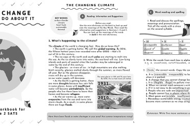 Announcing our new Key Stage 2 SATS literacy revision booklet on Climate Change!
