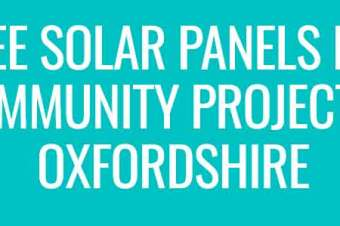 FREE SOLAR PANELS! Got a project that needs solar panels?