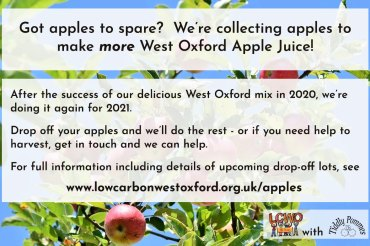 Bring us your apples for new JUICE! And bottles of 2020 blend still available…