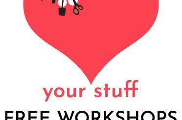 FREE Darning & junk modelling workshops at next week's Repair Cafe