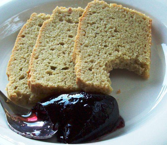 1-2-3 Bread with Sugar-Free Jam