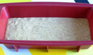 Simple and Fluffy Gluten-Free Low-Carb Bread, The Ready Batter In a Pan