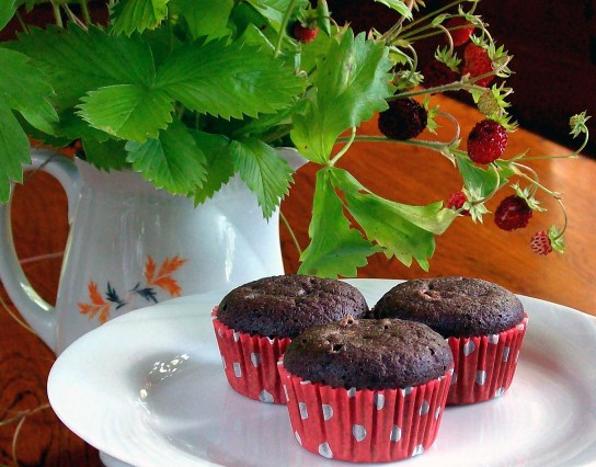 Low-Carb Chocolate Mini Muffins, on the Table | Low-Carb, So Simple!