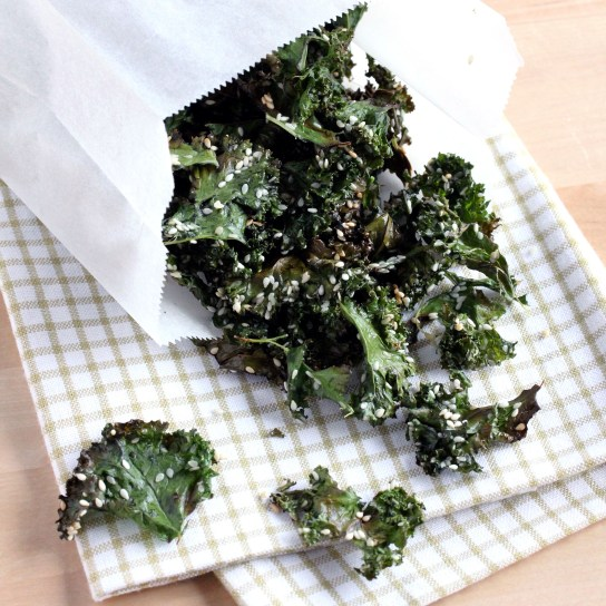 Sesame Mirin Kale Chips | Low-Carb, So Simple!