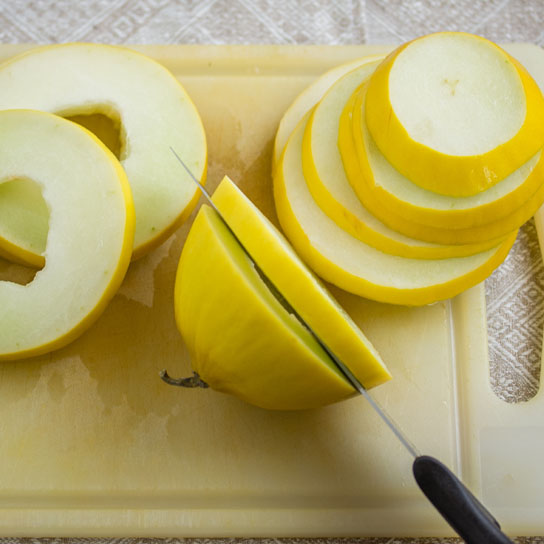 4th of July Dessert; Slicing the Melon | Low-Carb, So Simple!