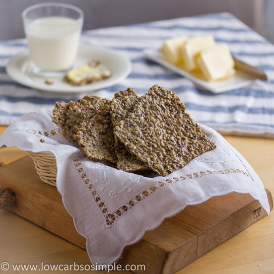 Gluten-Free, Dairy-Free Crisp Bread | Low-Carb, So Simple!