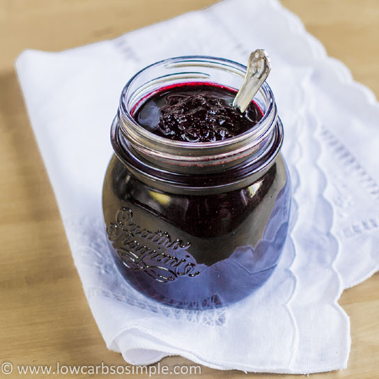 Sugar-Free Blueberry Jam | Low-Carb, So Simple!