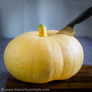 Halving the Pumpkin | Low-Carb, So Simple!