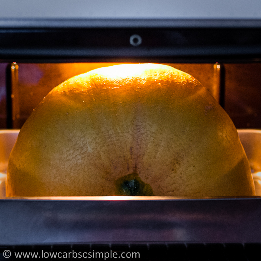 Pumpkin in the Oven | Low-Carb, So Simple!