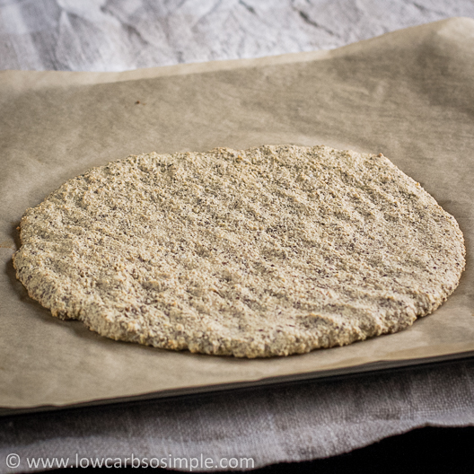 Flatbread; Straight from the Oven | Low-Carb, So Simple!