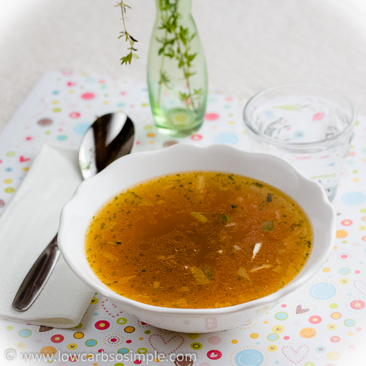Fat Burning Soup, Great for the Flu Too! | Low-Carb, So Simple!