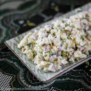 Crunchy Nutty Cauliflower Salad | Low-Carb, So Simple!
