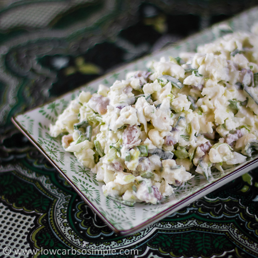 Crunchy Nutty Cauliflower Salad | Low-Carb, So Simple!