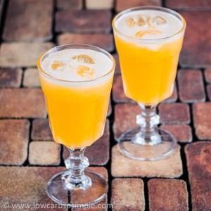 Cantaloupe Agua Fresca   Low-Carb, So Simple!