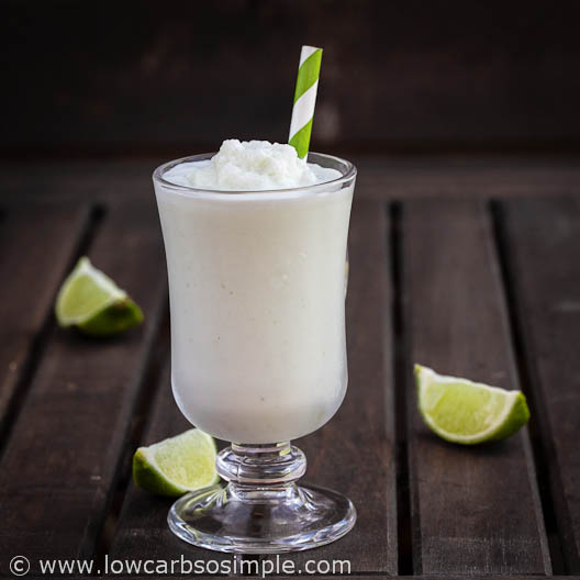 Coconut Lime Slush Lassi Style | Low-Carb, So Simple!