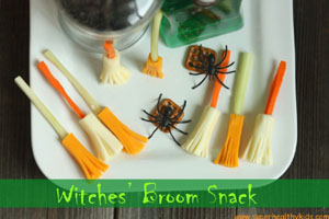 witches-broom-snack | Super Healthy Kids