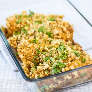 """Pork Rind Breaded Chicken on my Kindle Book """"Easy Everyday Recipes"""" 