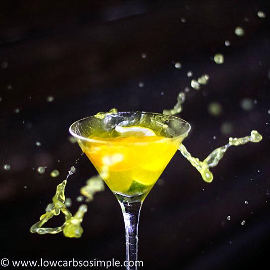 Citrus Explosion Martini | Low-Carb, So Simple