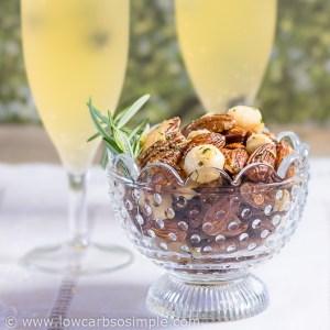 1-Minute 5-Ingredient Lemon Rosemary Keto Snack | Low-Carb, So Simple