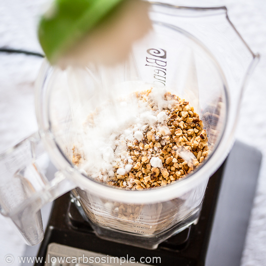 Irresistibly Easy No-Sugar Nutella Fudge; Adding Powdered Erythritol | Low-Carb, So Simple