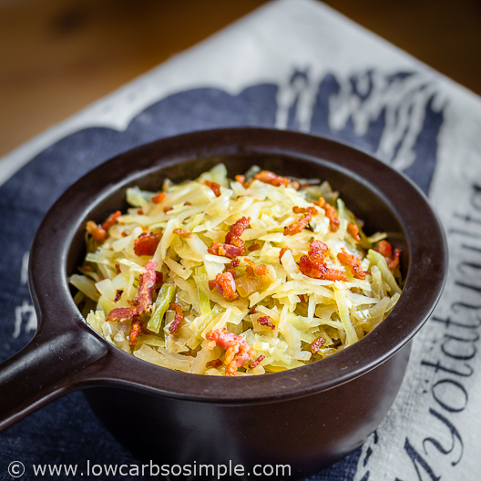The Best Southern Fried Cabbage | Low-Carb, So Simple