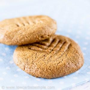 2-Ingredient Peanut Butter Cookies   Low-Carb, So Simple