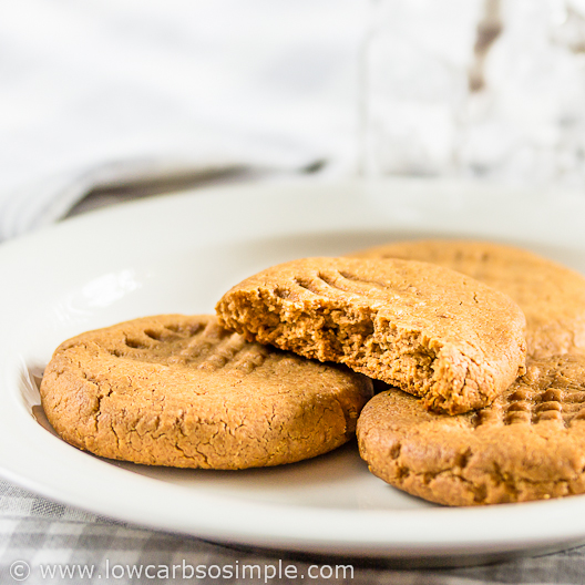 2-Ingredient Peanut Butter Cookies | Low-Carb, So Simple