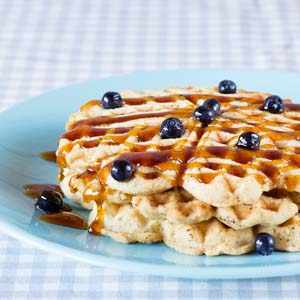 Super-Healthy Waffles (or Pancakes) from Low-Sugar, So Simple Book