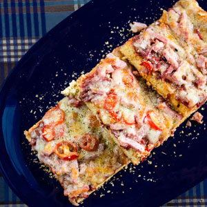 Fabulous Pizza Focaccia for the Whole Family from Low-Sugar, So Simple Book