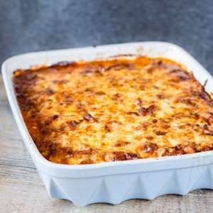 Fuss-Free, Starch-Free Lasagna from Low-Sugar, So Simple Book