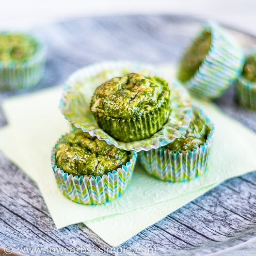 Green Egg Muffins with Ham and Cheese   Low-Carb, So Simple