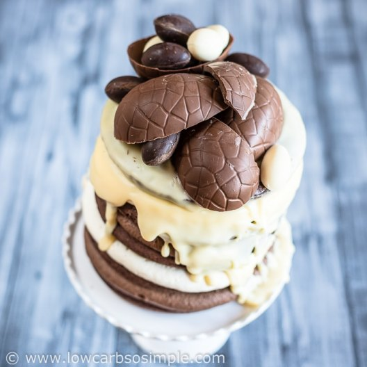 Easter 2018 Avant-Garde Cake | Low-Carb, So Simple