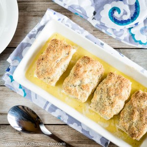 Schlemmerfilet Bordelaise – Herbed Almond and Parmesan Crusted Fish | Low-Carb, So Simple