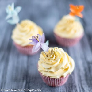 The Very Best Sugar-Free Vanilla Frosting | Low-Carb, So Simple