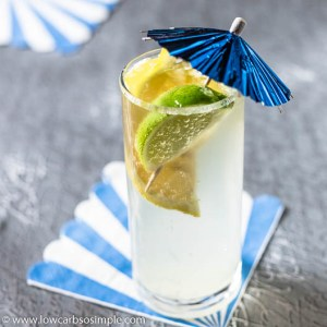 """Healthy Sugar-Free """"Sprite"""" as cocktail (adults only!) 