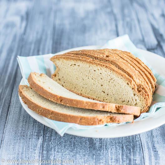 Easy Dairy-Free Keto Bread   Low-Carb, So Simple