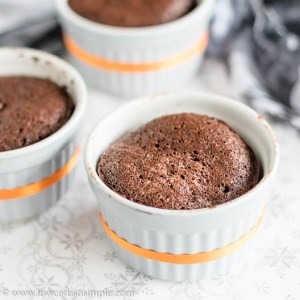3 X 5-Ingredient Keto Chocolate Pumpkin Mug Cake | Low-Carb, So Simple