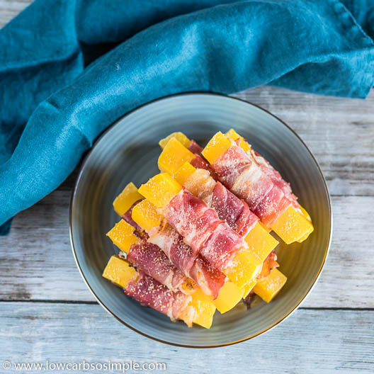 Bacon-Wrapped Butternut Squash or Pumpkin | Low-Carb, So Simple