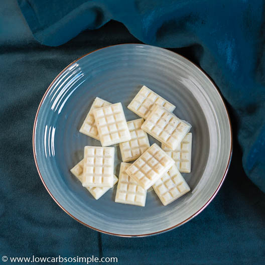 The Ultimate Dairy-Free Sugar-Free White Chocolate | Low-Carb, So Simple